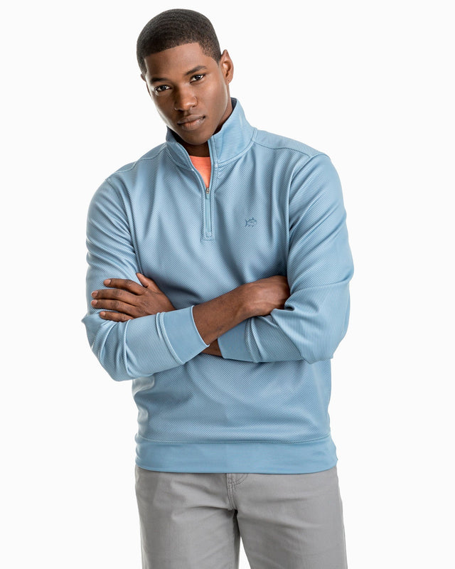 Shark Skin Performance 1/4 Zip Pullover | Southern Tide