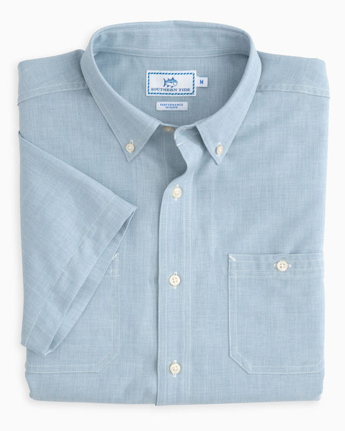 Short Sleeve Performance Dock Shirt | Southern Tide