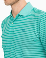 Summertide Performance Striped Polo Shirt | Southern Tide