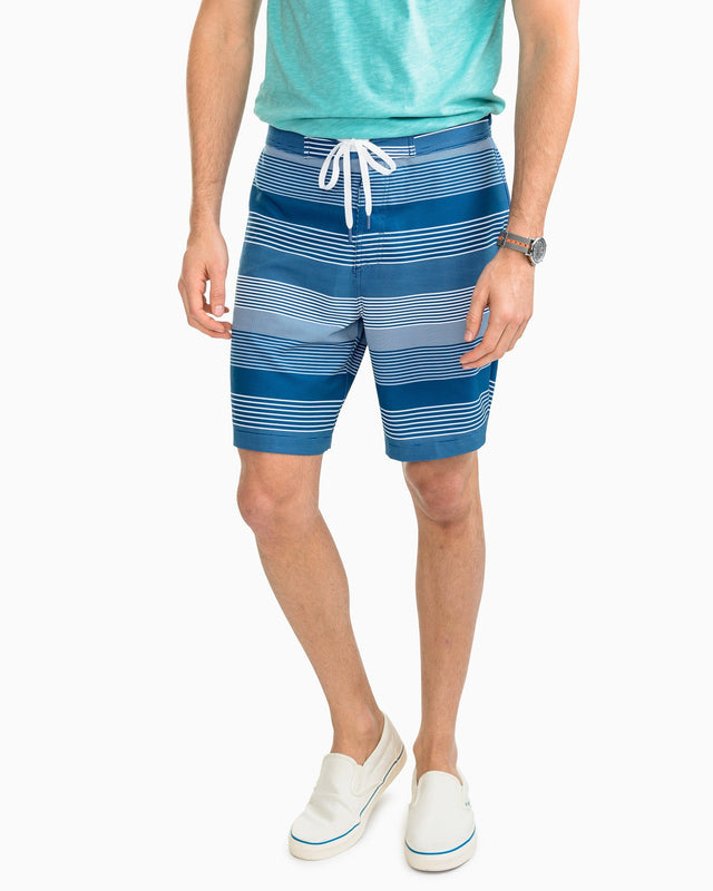 Talahi Island Stripe Water Short | Southern Tide