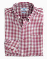 Team Colors Gingham Intercoastal Performance Sport Shirt | Southern Tide