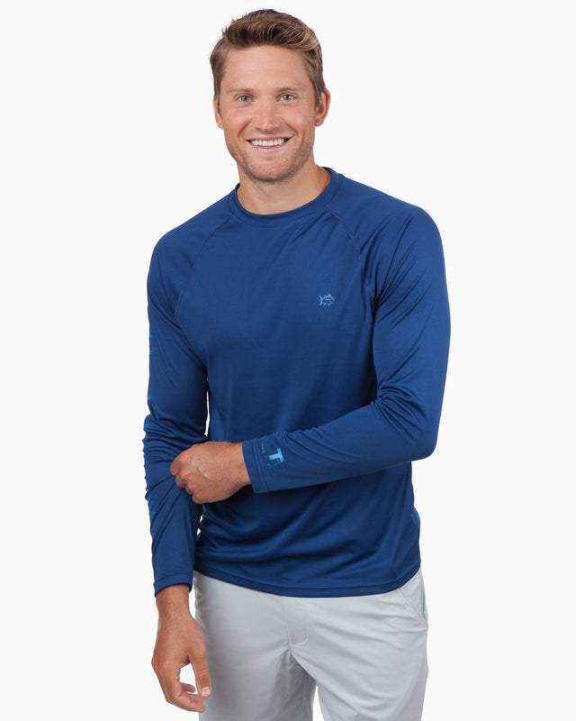 Tide to Trail Long Sleeve Performance T-Shirt | Southern Tide