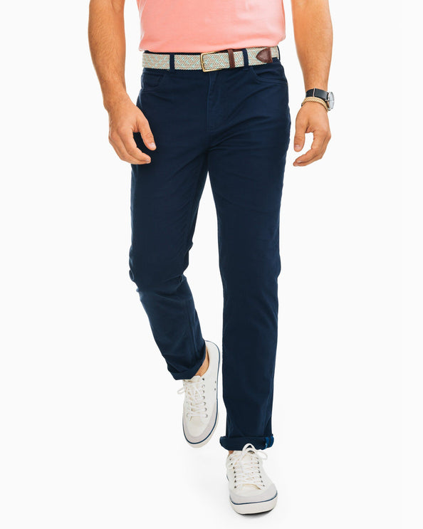 Harbor 5-Pocket Pant - True Navy