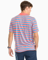 Wallilabou Bay Stripe Performance Polo Shirt | Southern Tide