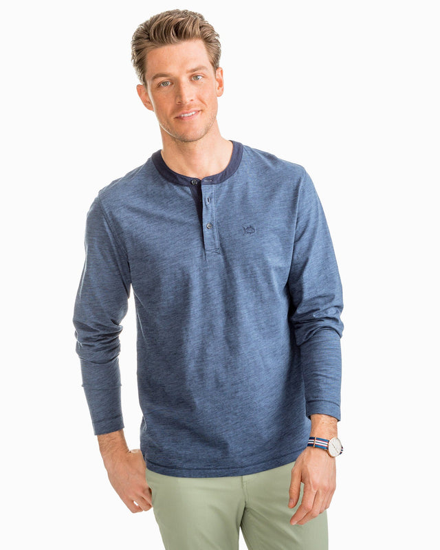 Walsh Striped Henley | Southern Tide