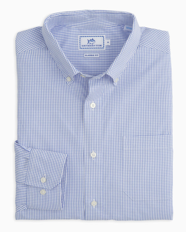 Watermark Tattersall Button Down Shirt