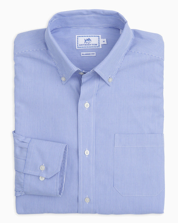 Wedgewood Stripe Button Down Shirt