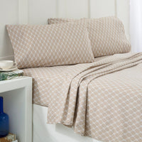 Nautical Knots Khaki Sheet Set | Southern Tide