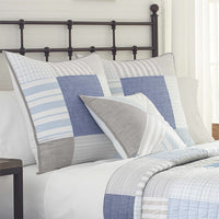 Nautical Mile Square Decorative Pillow | Southern Tide