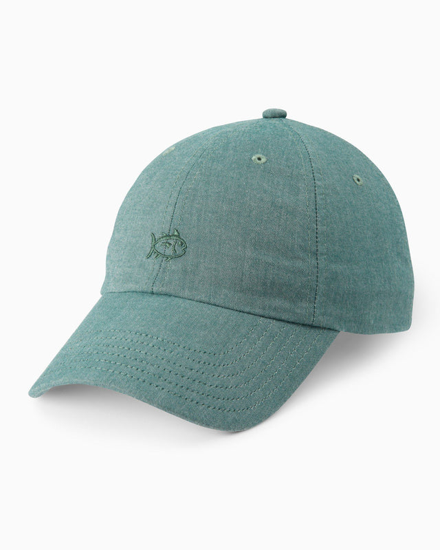 Oxford Chambray Skipjack Hat | Southern Tide