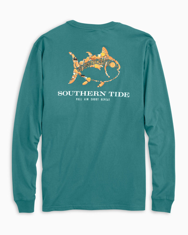 Pull Aim Shoot Repeat Long Sleeve T-Shirt | Southern Tide