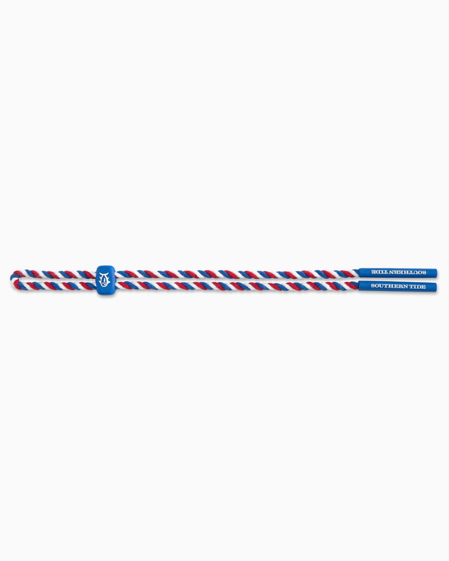 Red, White & Blue Rope Sunglass Strap | Southern Tide