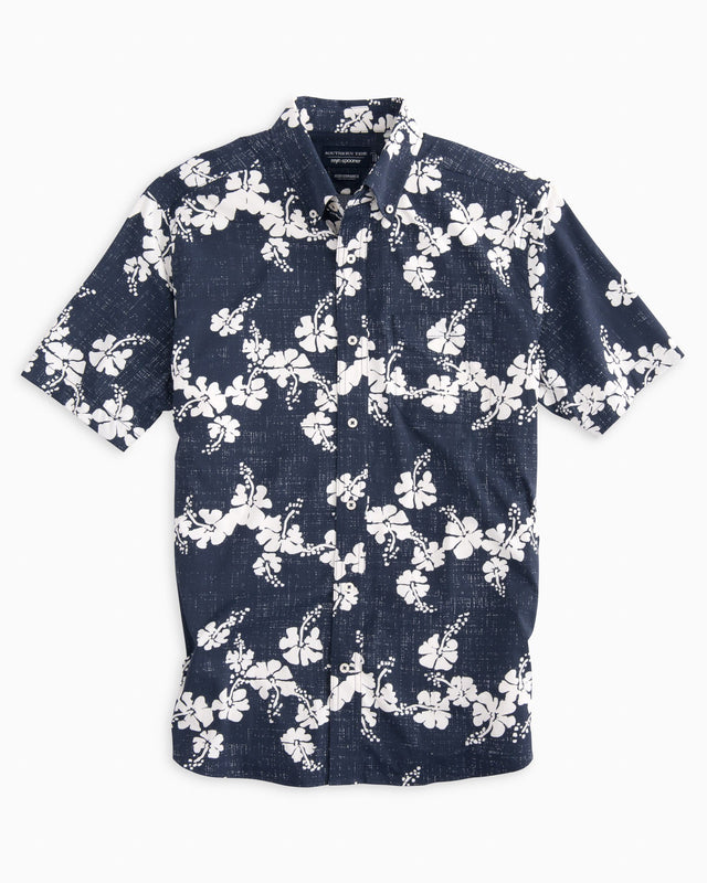 Reyn Spooner Aloha Intercoastal Performance Short Sleeve Shirt | Southern Tide