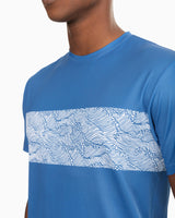 Reyn Spooner Wave Print Performance T-shirt | Southern Tide