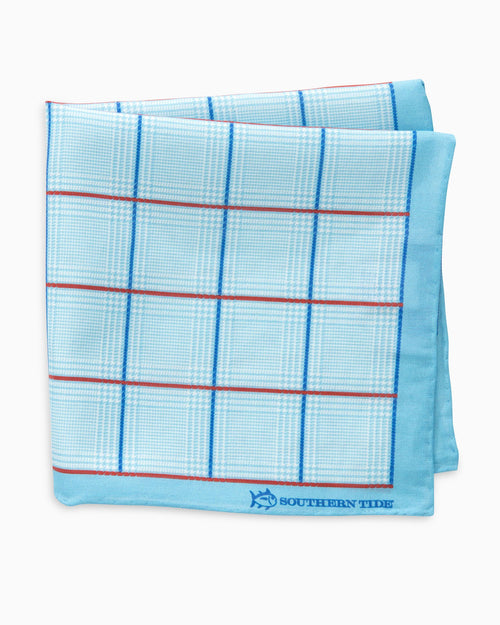 Roanoke Glen Plaid Pocket Square | Southern Tide