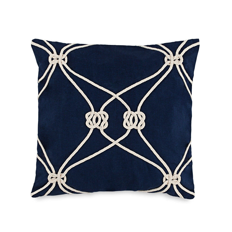 Royal Pine Rope Knot Decorative Pillow | Southern Tide