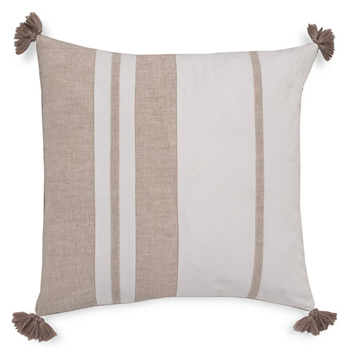 Sandbar Stripe Tassel Decorative Pillow | Southern Tide