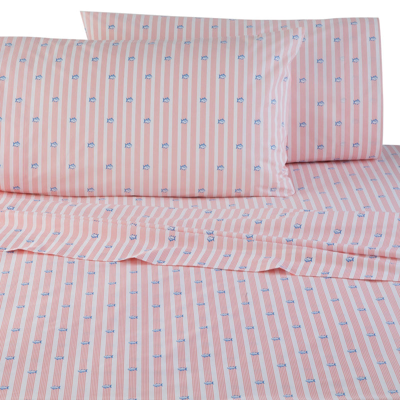 Skipjack Banded Stripe Sheet Set | Southern Tide