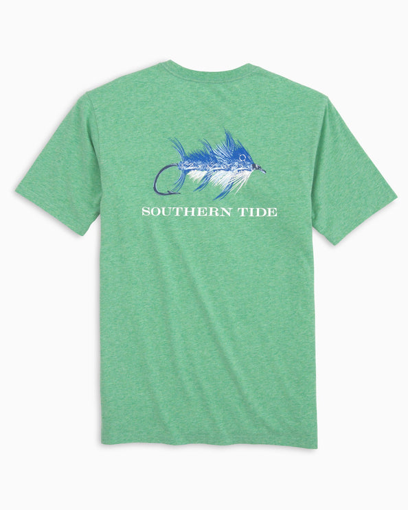 Image of Skipjack Fly Heather T-shirt