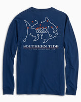 Skipjack Play Long Sleeve T-shirt - Auburn University | Southern Tide
