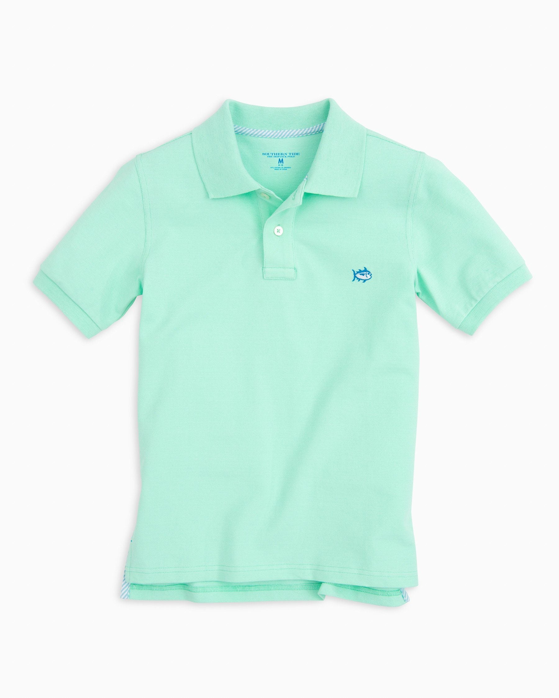 Southern Tide Mens The Skipjack Short Sleeve Polo Shirt Teal Green Size Xl 42 Goods Of Every Description Are Available Shirts