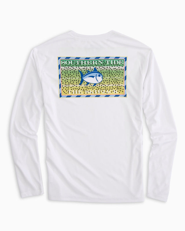 Southern Slam Series Rainbow Trout Long Sleeve Performance T-shirt | Southern Tide