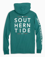 Southern Wave Long Sleeve Hoodie T-shirt | Southern Tide