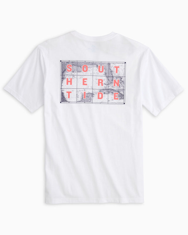 Stacked ST Map T-shirt | Southern Tide