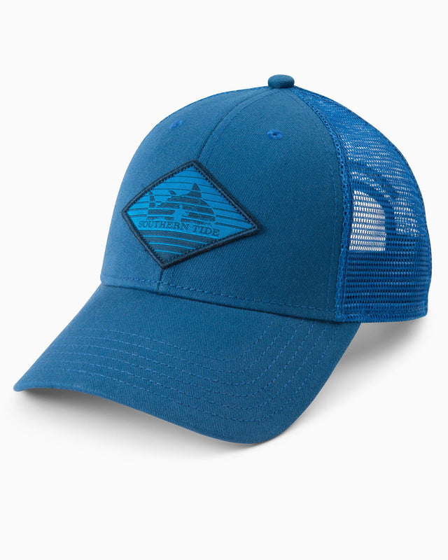 Rising Skipjack Patch Structured Trucker Hat | Southern Tide