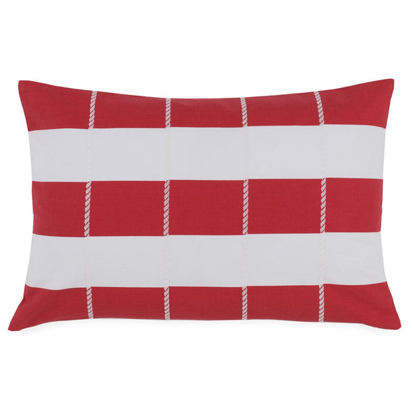 Sullivan Rugby Stripe Throw Pillow