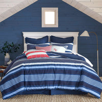 Sullivan Stripe Throw Pillow | Southern Tide