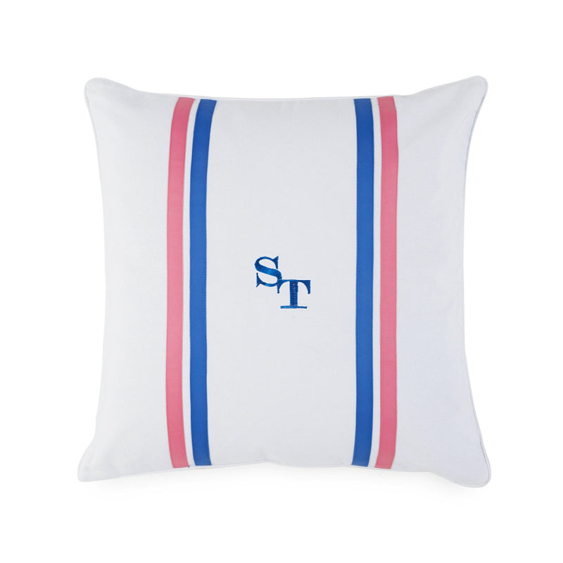 Summer Daze Ribbon Decorative Pillow | Southern Tide