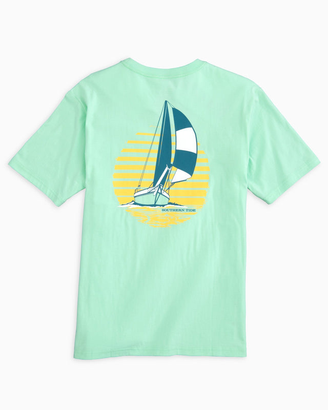 Sunset Sailing T-shirt | Southern Tide