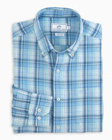 Surfwatch Plaid Sport Shirt | Southern Tide