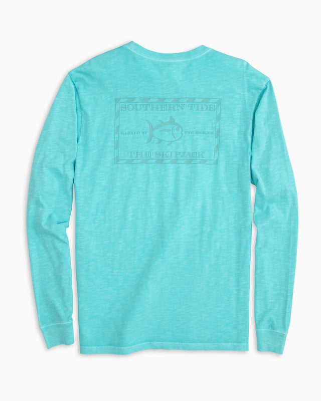 Tonal Original Skipjack Garment Dyed Long Sleeve T-shirt | Southern Tide