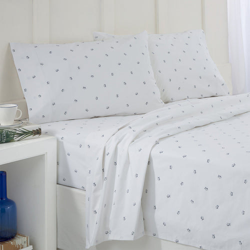 Tossed Skipjack Cotton Sheet Set | Southern Tide
