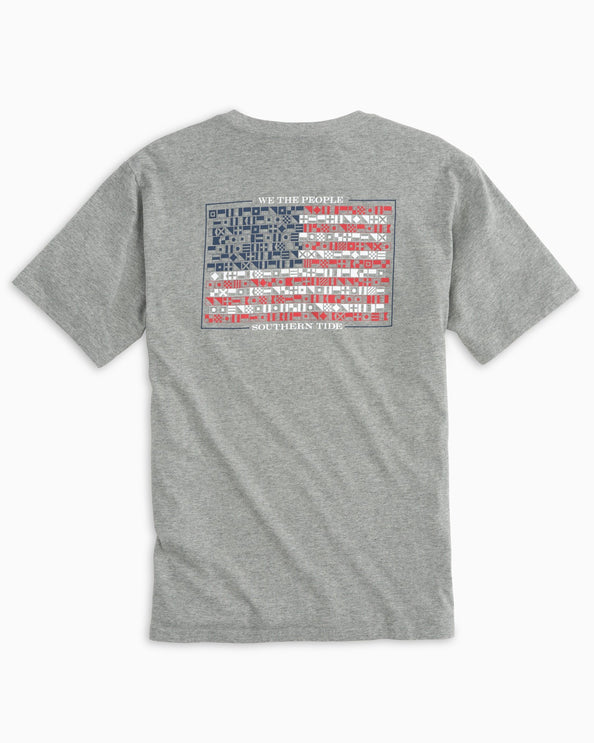 Image of We The People Flag T-shirt