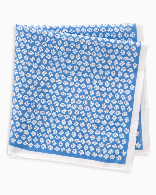 Whitefield Floral Pocket Square | Southern Tide
