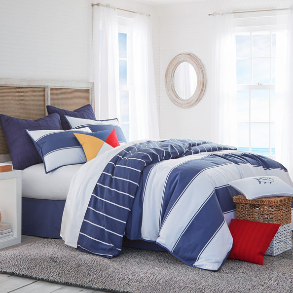 Windward Reversible Comforter Set