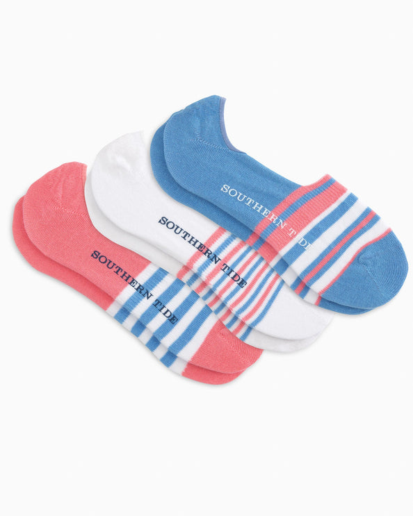 Women's 3-Pack No Show Socks