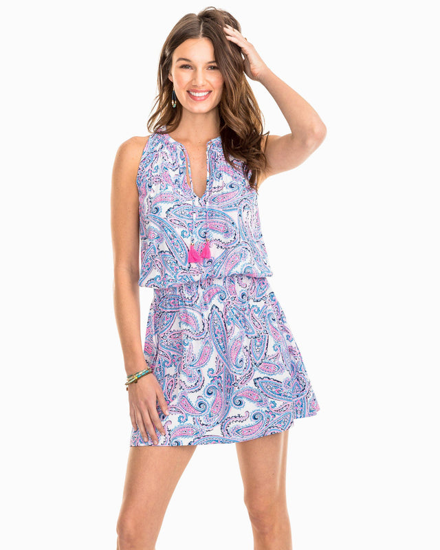Annabel Paisley Print Dress | Southern Tide