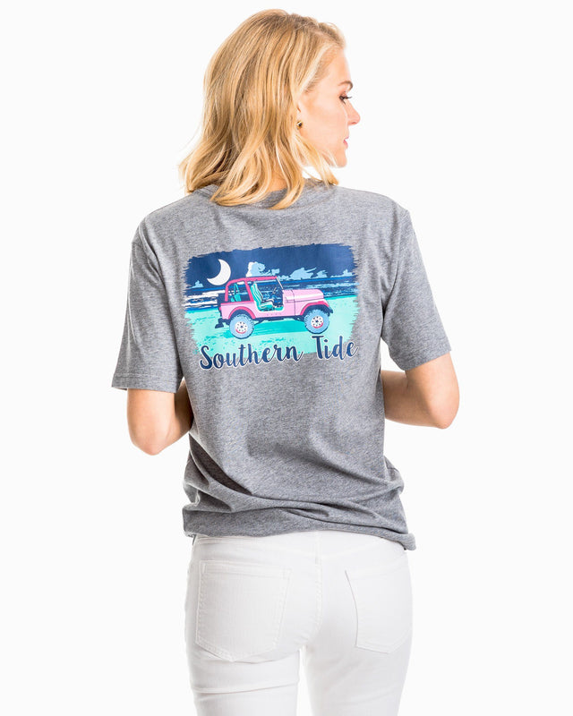 Beach Night Graphic T-Shirt | Southern Tide