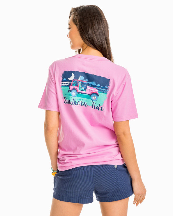 Beach Night Graphic T-Shirt