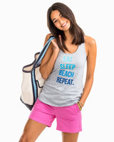 Eat Sleep Beach Repeat Graphic Tank | Southern Tide