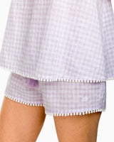 Heathered Gingham Sleep Tank | Southern Tide