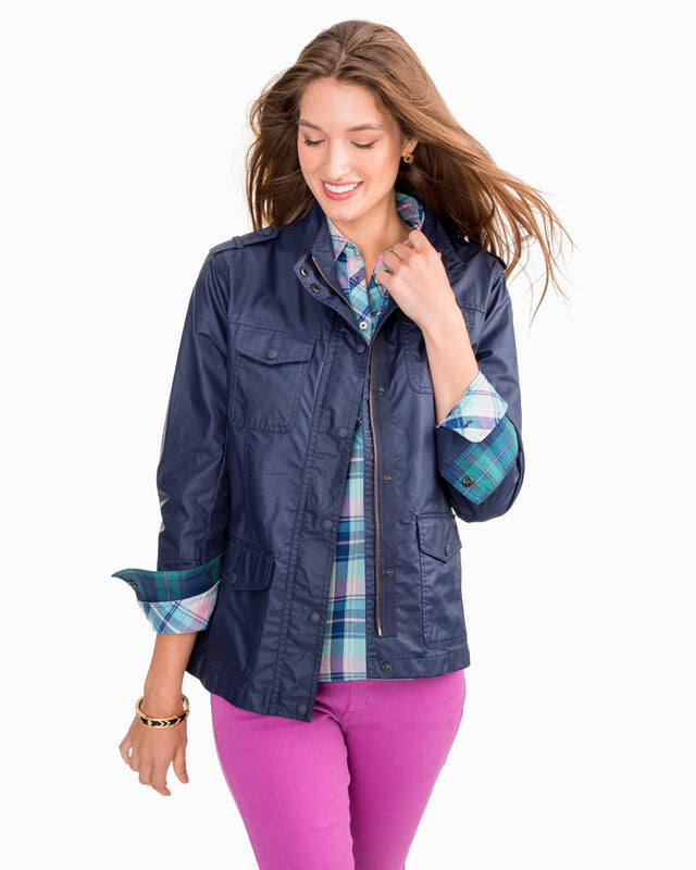 Hudson Waxed Cotton Jacket | Southern Tide