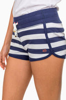 Jodie French Terry Stripe Short | Southern Tide