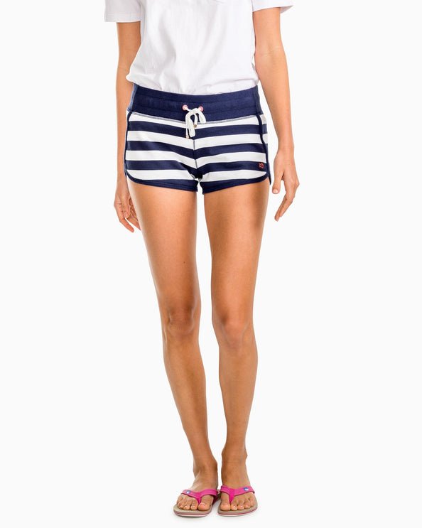 Jodie French Terry Stripe Short