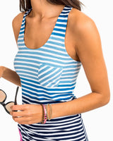 Julie Variegated Stripe Tank | Southern Tide