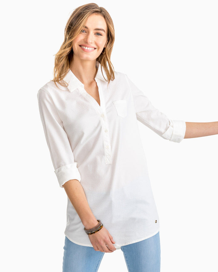 Seersucker Dress Shorts And Swimsuits For Women Southern Tide
